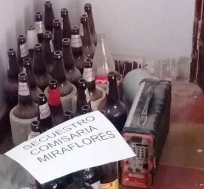 Detectan fiesta clandestina con adolescentes en Miraflores