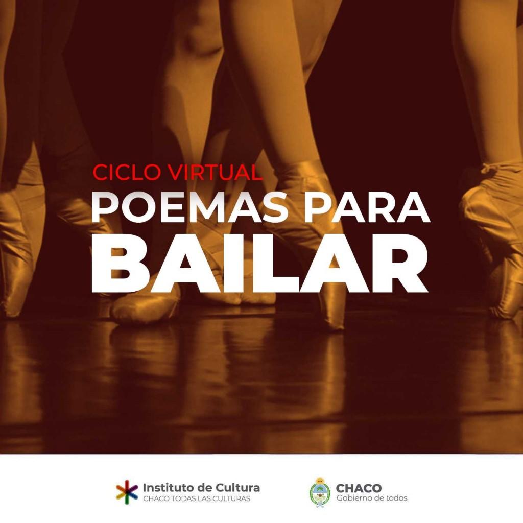 Poema, recitado y danza para disfrutar en redes sociales
