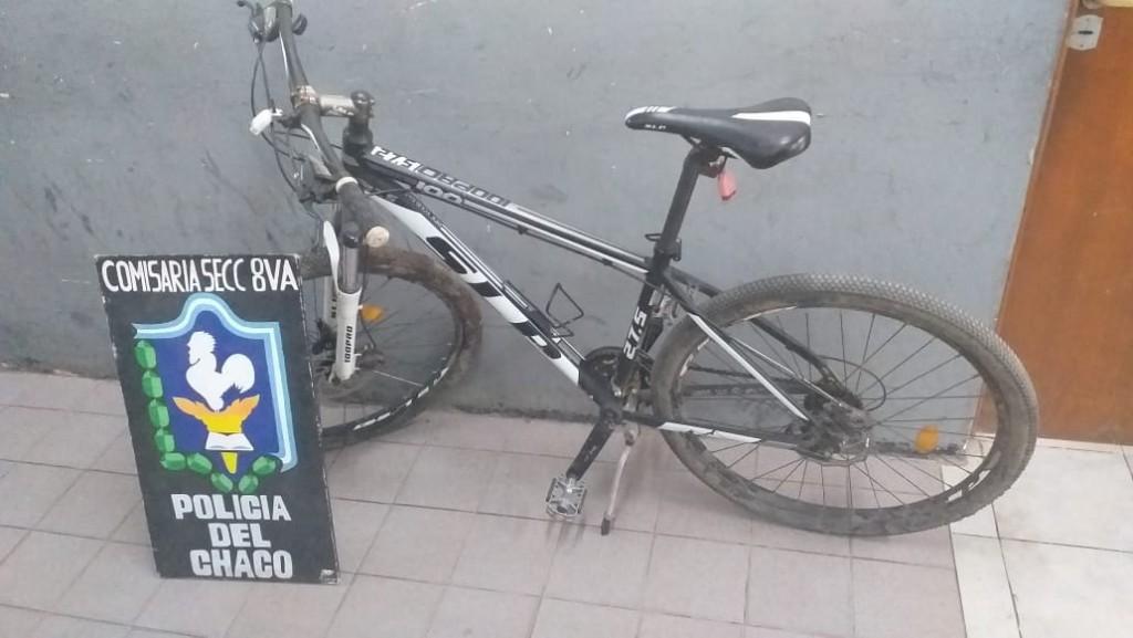Cae ladrón de bicicleta en el barrio Judicial