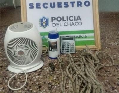 Recuperan bienes robados de céntrica escuela, un detenido