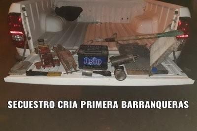Esclarecen robo a una vivienda en Barranqueras