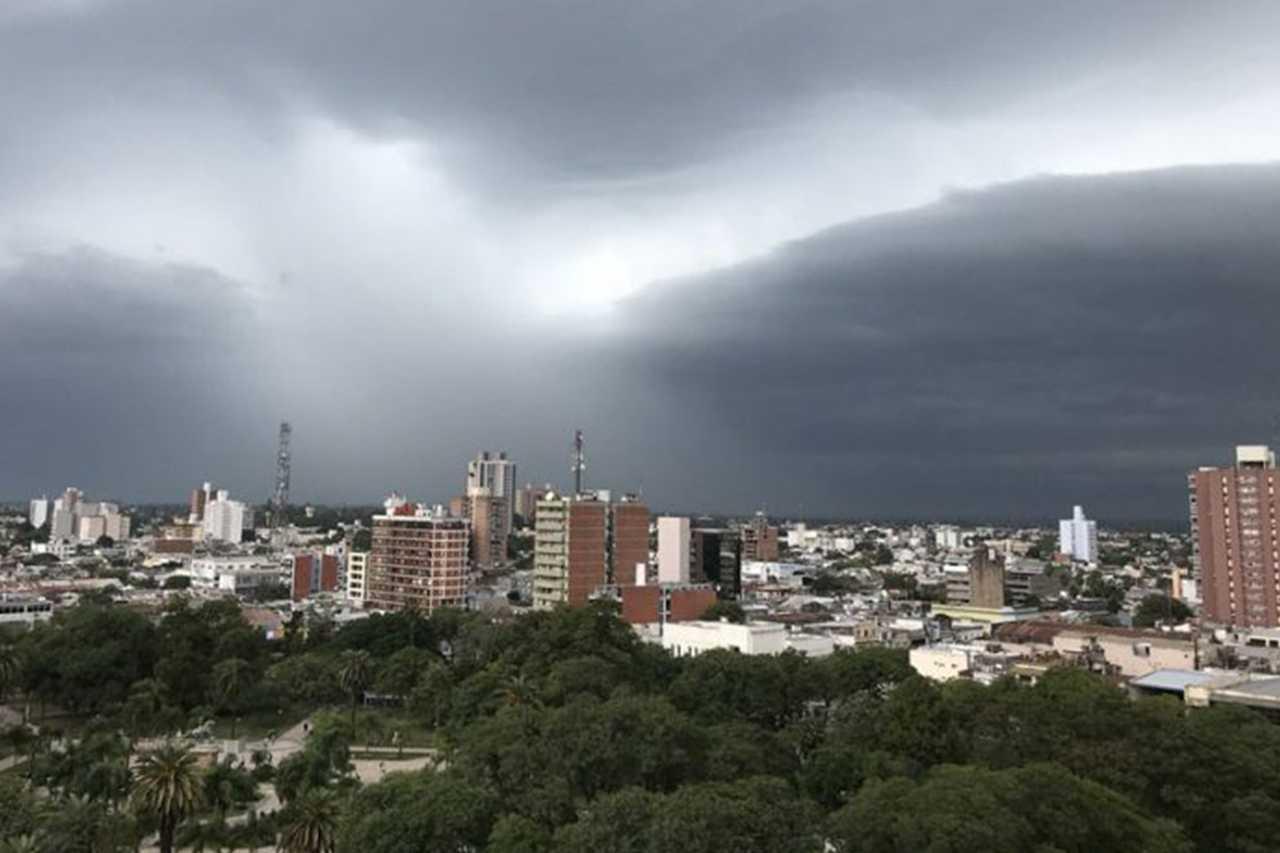 Chaco, bajo alerta meteorológico.