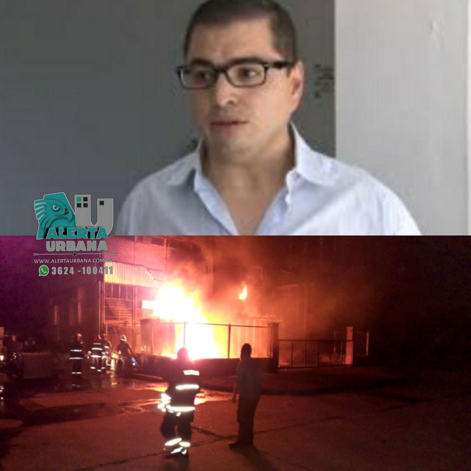 Gran incendio y explosión en planta transformadora Transnea
