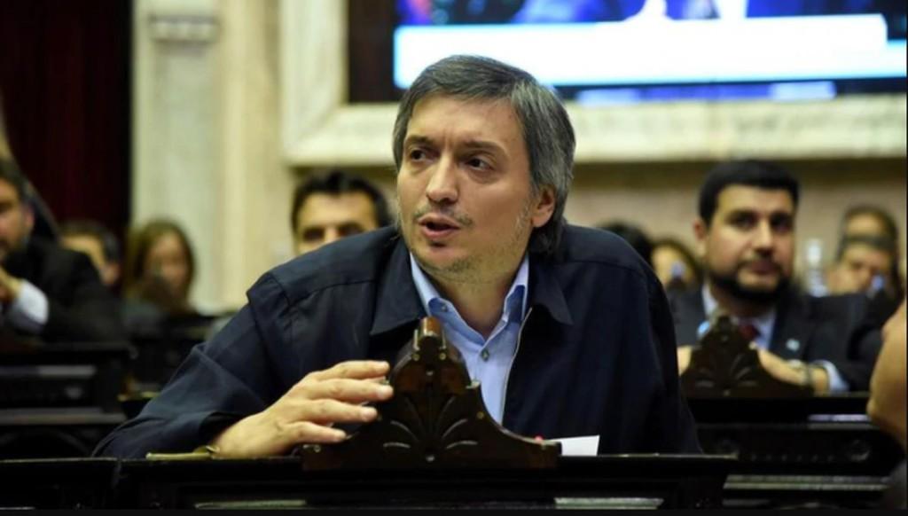 """Máximo Kirchner criticó a los que buscan """"imponer"""" que los argentinos se quieren ir del país: """"Intentan quebrar la esperanza"""""""