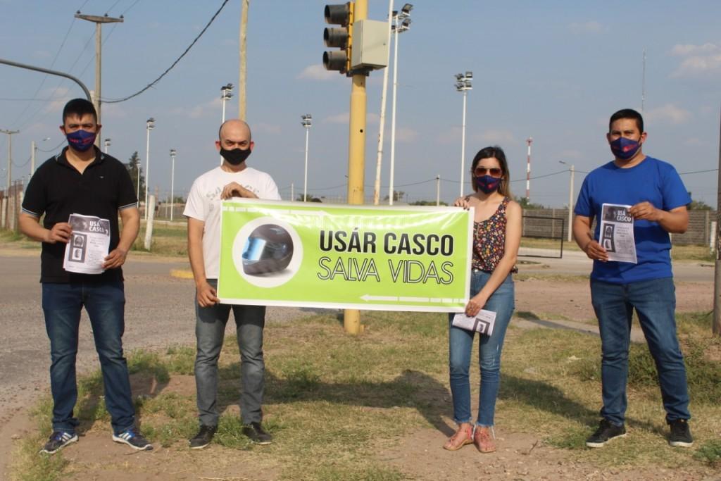 Desde Villa Angela alumnos de la UTN presentan Proyecto de Concientización Vial