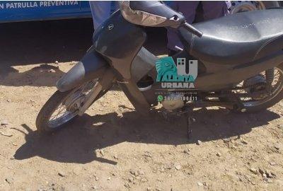 Resistencia: se movilizaba en una moto con pedido de secuestro.