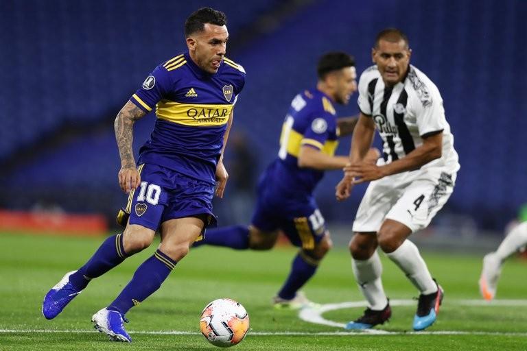Boca igualó 0-0 ante Libertad y se aseguró el pasaje a los octavos de final de la Copa Libertadores