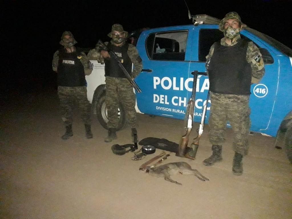 Blindaje rural permitió secuestrar 7 escopetas y demorar a cazadores furtivos