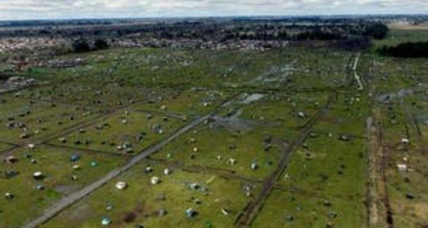 Sin desalojo, las tomas ilegales se convierten en nuevos barrios del conurbano