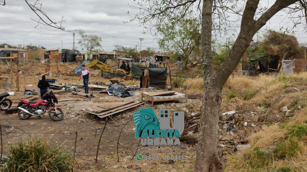 Barranqueras: desalojaron por completo el predio municipal usurpado