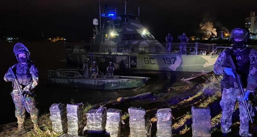 Secuestran más de 250 kilos de marihuana por un valor comercial de 25,4 millones de pesos