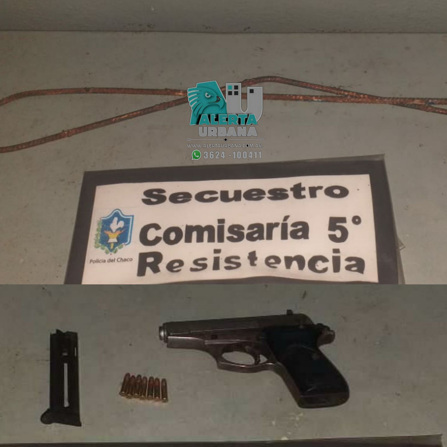 Resistencia: evitaron un robo y detuvieron a un hombre armado