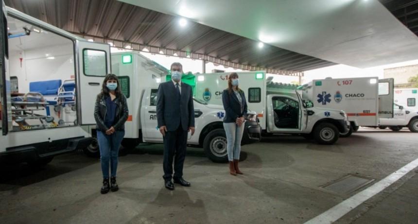 El sistema sanitario de El Impenetrable recibió siete ambulancias por parte del gobierno provincial.