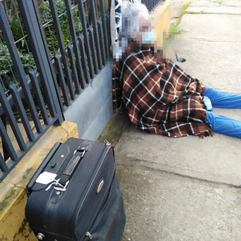 Chile: en plena cuarentena, una anciana de 88 años fue desalojada de su casa por su propia hija.