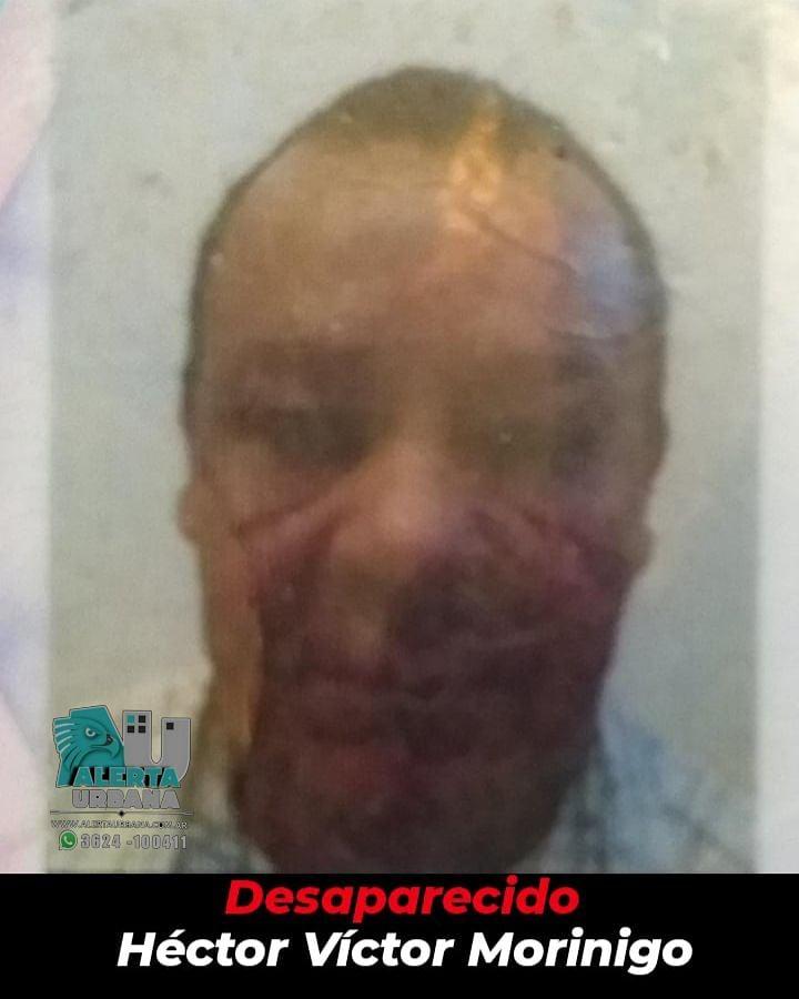 Resistencia: se busca el paradero del señor Héctor Víctor Morinigo