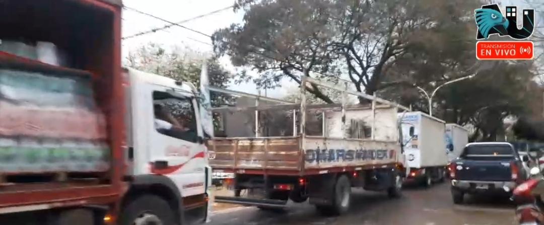 Cierre de campaña del Sindicato de Camioneros del Chaco