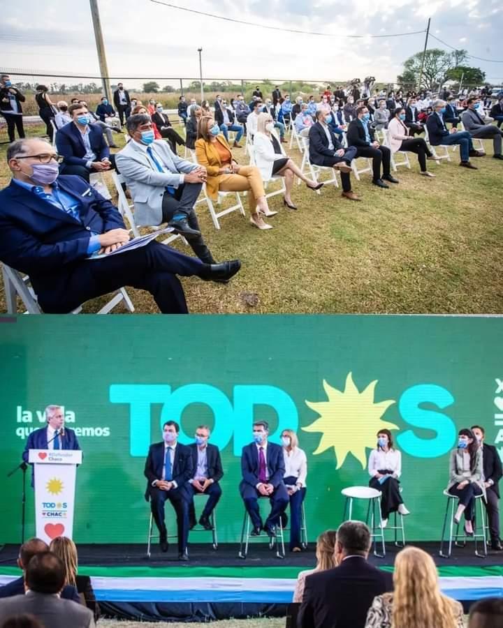 Rodas destacó que Fernández da continuidad a las políticas públicas que permitieron crecer al nordeste argentino