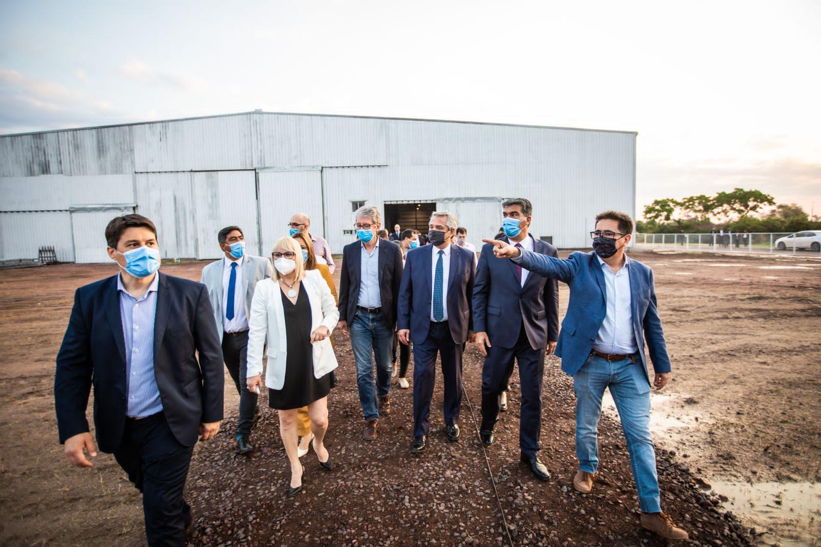 Visita presidencial: Sager destacó la inversión y la generación de empleo de las empresas chaqueñas