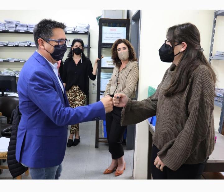 El intendente Gustavo Martínez inició el proceso de recategorización de profesionales municipales