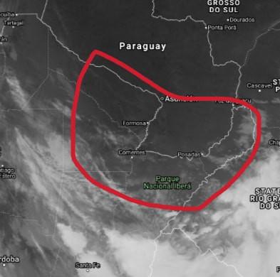 ¿Se viene la lluvia?: nueva alerta por tormentas para Chaco