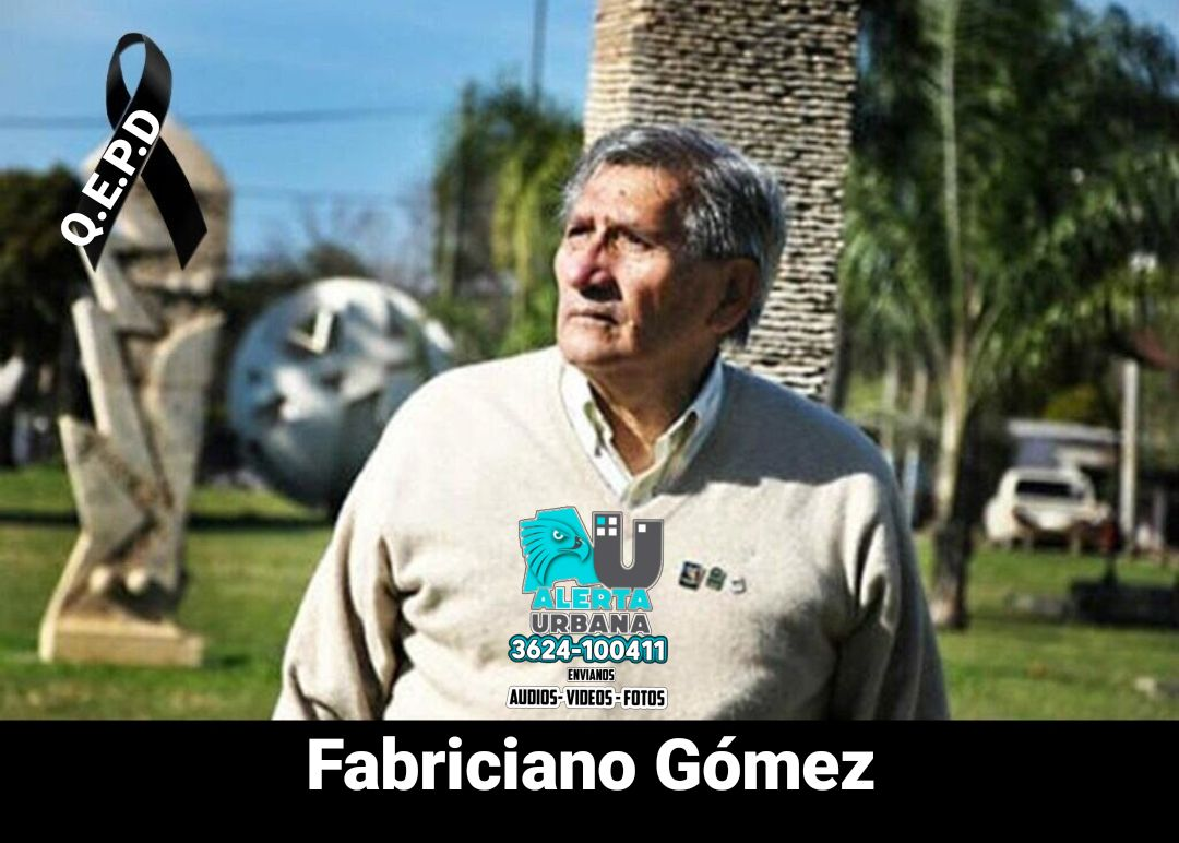 Falleció Fabriciano Gómez