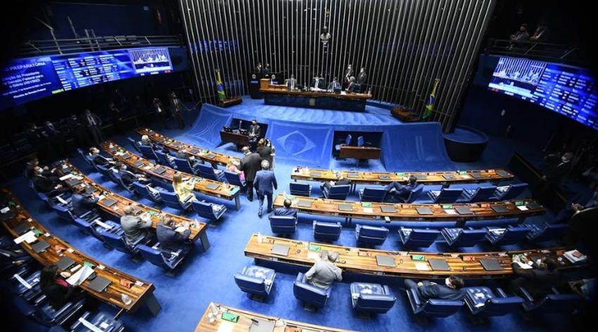 El Senado canceló sesiones y la agenda económica de Bolsonaro se frenó tras su discurso golpista