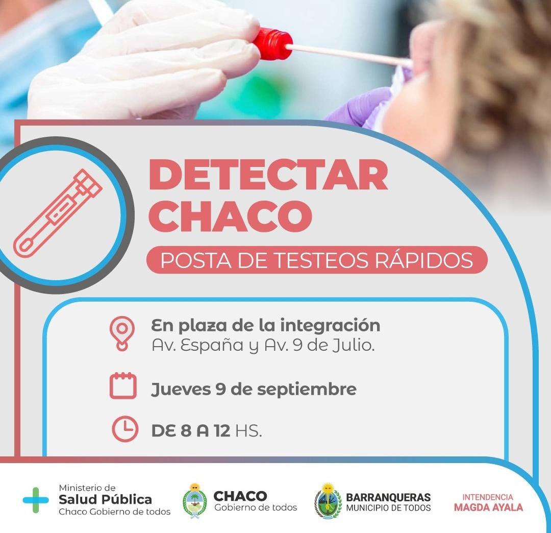 Barranqueras: importante operativo Detectar