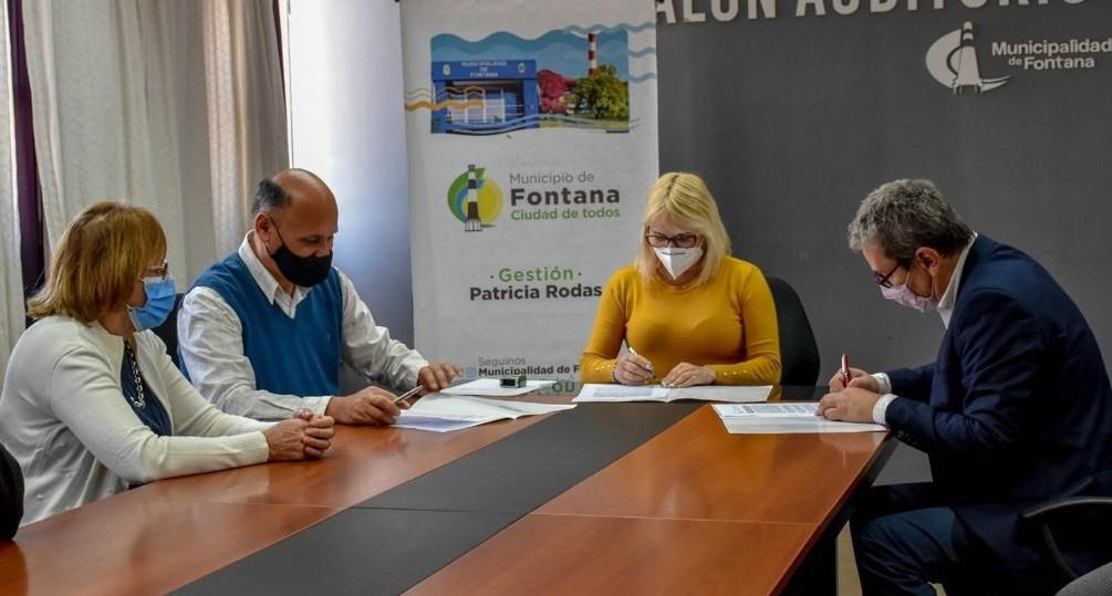 Convenio entre la municipalidad de Fontana y la UNNE para fortalecer  a agricultura familiar de la ciudad