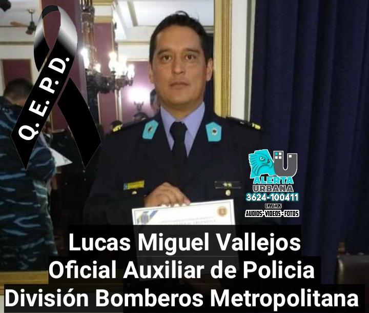 La Policía del Chaco despide a otro camarada