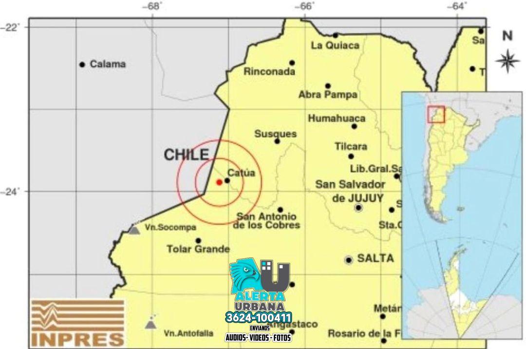 Jujuy: un sismo de 6.3 grados sacudió la provincia