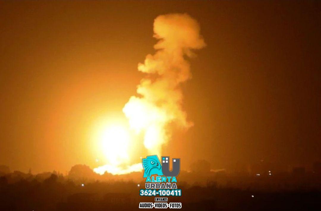 Israel lanzó un bombardeo defensivo contra el grupo terrorista Hamás