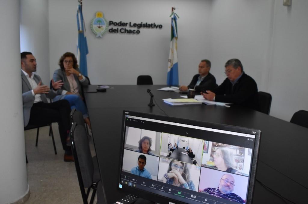 Diputados recibieron a las nuevas autoridades del Comité de Prevención de la Tortura del Chaco