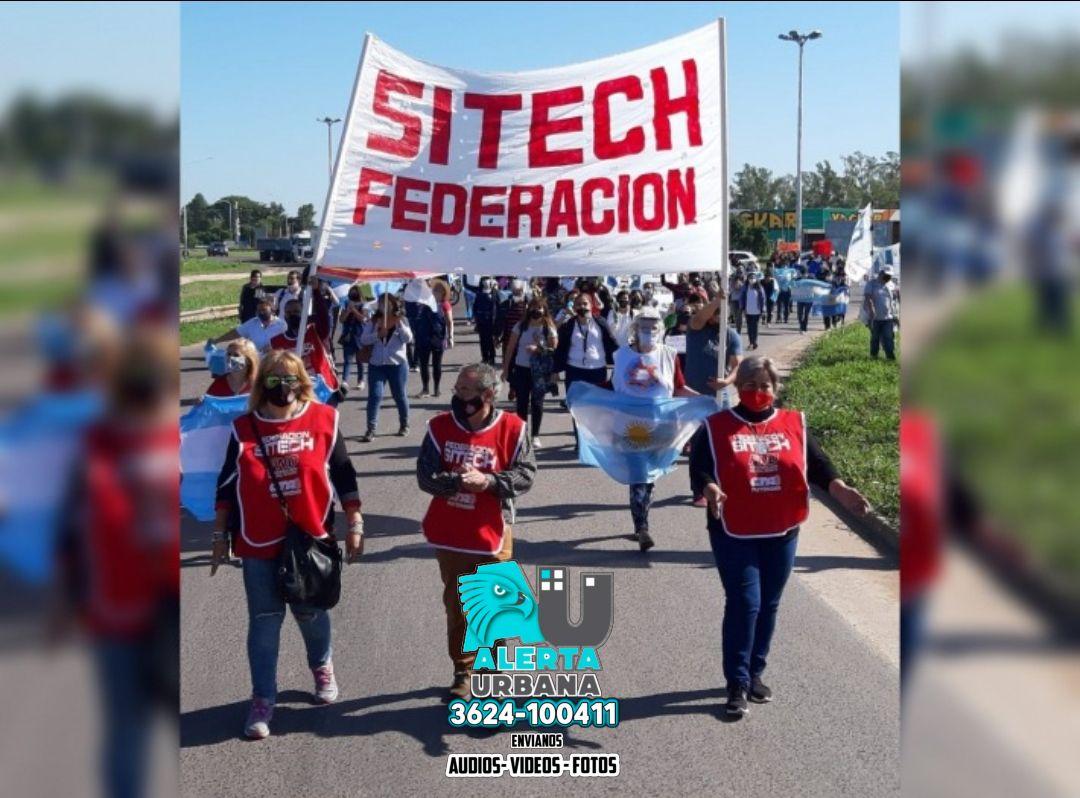 Para este jueves 16 Federación Sitech ratificó su jornada provincial de protestas
