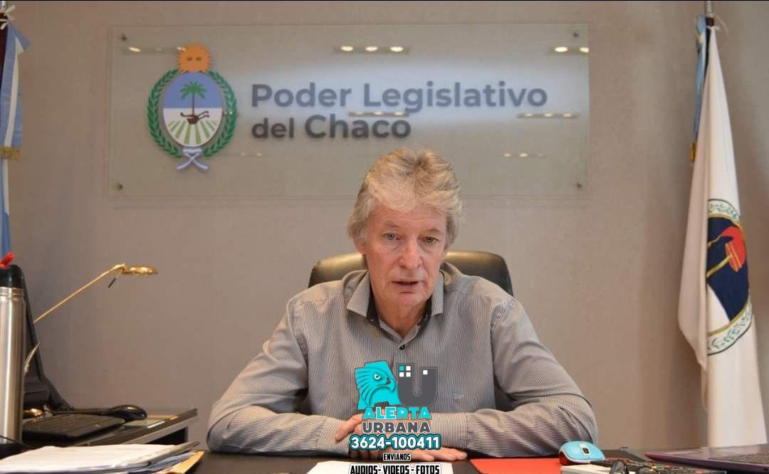 Hugo Sager-Presidente de la Legislatura: