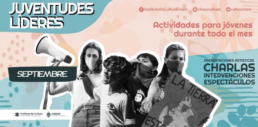 Mes de las Juventudes: propuestas culturales en localidades chaqueñas