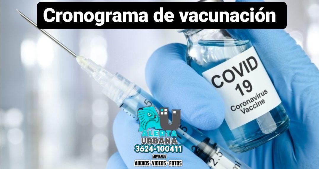Cronograma de vacunación contra el Covid-19: viernes 17 de septiembre
