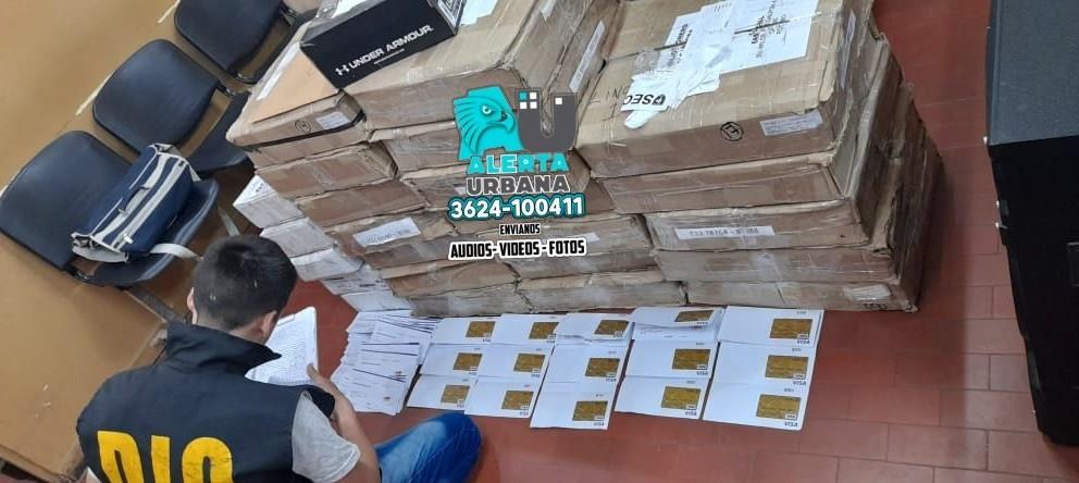 25.000 tarjetas secuestradas: podría tratarse de una organización dedicada a la falsificación y clonación