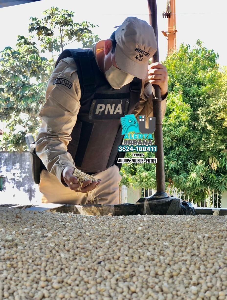 Barranqueras: se imposibilitó el contrabando 270.000 toneladas de granos