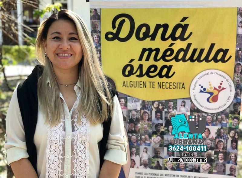 Nueva donante de médula ósea en Chaco