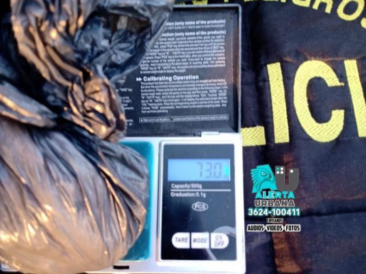 Fuerte Esperanza: Un vehículo oficial del CIC transportaban marihuana