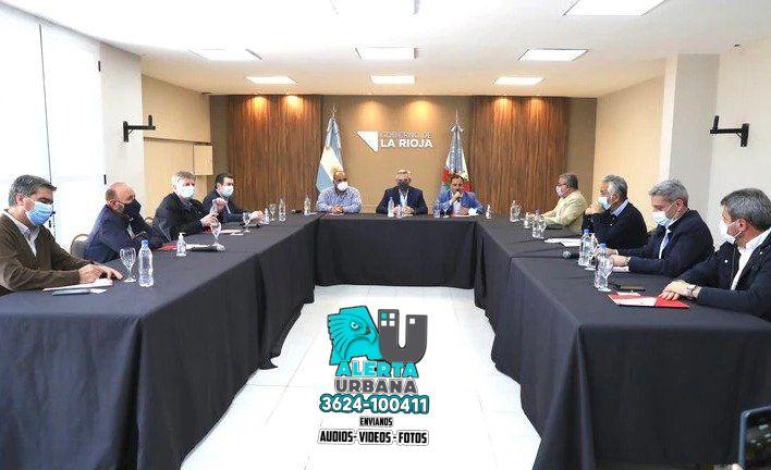 La Rioja: El Presidente encabeza una reunión de trabajo con gobernadores