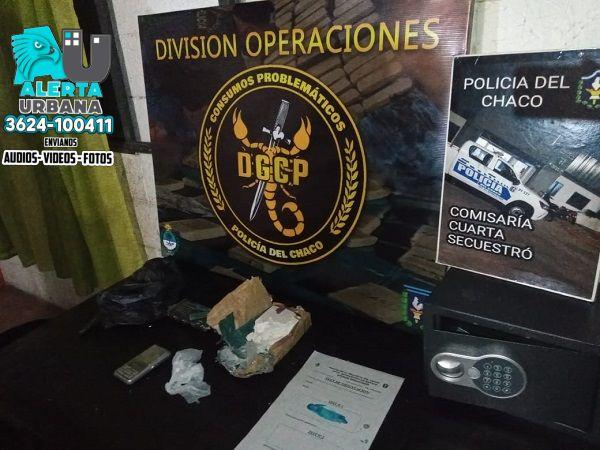 Allanamientos simultáneos desbaratan kioskos de drogas