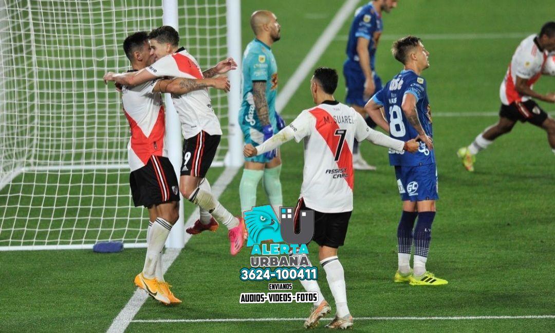 River Plate le ganó a Arsenal en un partido clave