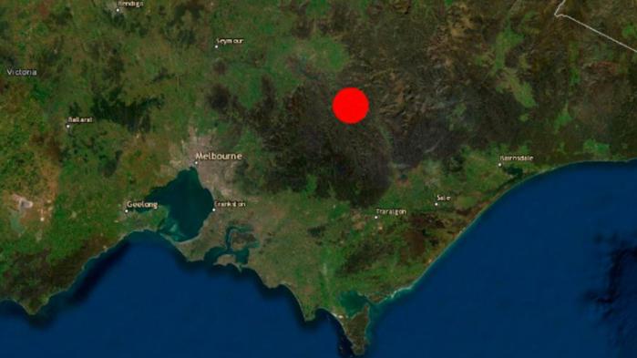 Un terremoto de magnitud 5,8 sacudió el sureste de Australia
