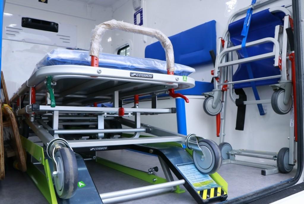 Se entregaron nuevas ambulancias para diferentes centros de salud y hospitales