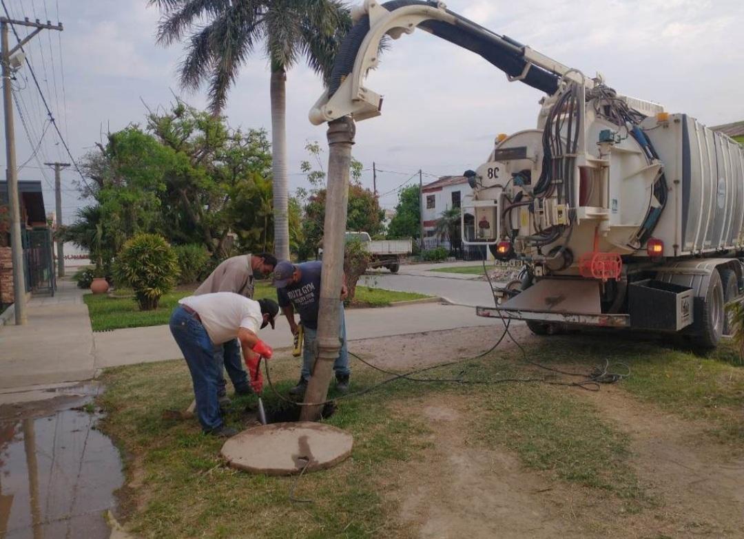Sameep realizó saneamiento integral en Villa Ángela