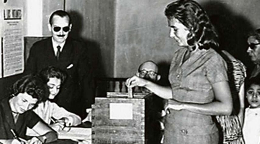 A 74 años de la promulgación de Ley que instituyó el voto femenino