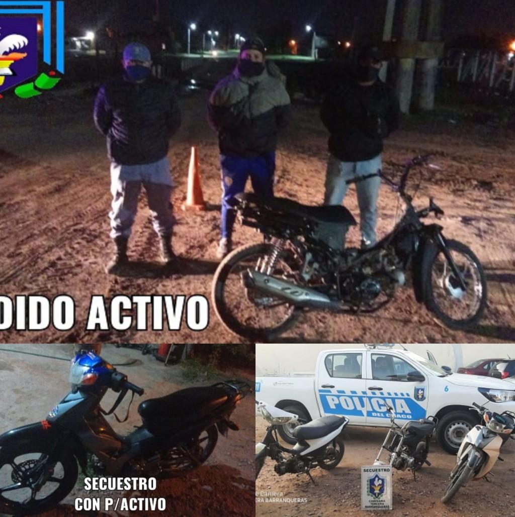 Barranqueras: en pocos días secuestraron cinco motos