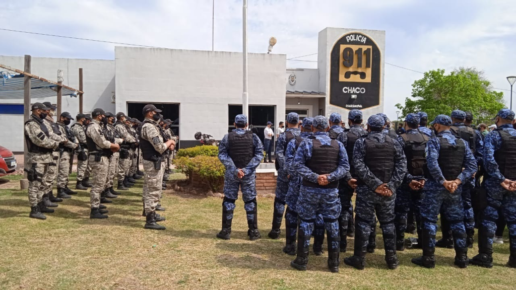 Sáenz Peña: allanamientos programados por ilícitos
