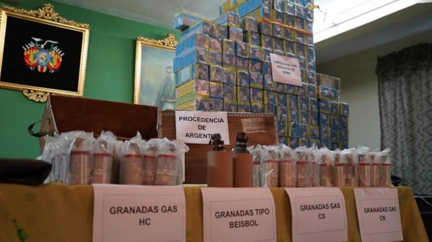 Piden a Bolivia documentación sobre el envío de municiones del gobierno de Macri